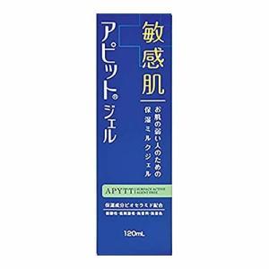 全薬工業 アピットジェルS 120mL(乾燥肌/肌あれ/皮膚の保護/敏感肌/弱酸性/低刺激/無香料/無着色/ミルクジェル)|kenko-ex