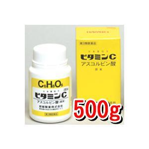 【第3類医薬品】岩城製薬 ビタミンC「イワキ」 原末 500g