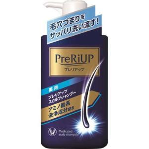 大正製薬 プレリアップ スカルプシャンプー 400mL(ポンプ式) (医薬部外品)|kenko-ex
