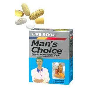 LIFE STYLE(ライフスタイル) マンズチョイス 30パック[30日分][エープライム](男性用サプリメント)