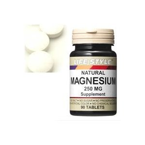 LIFE STYLE(ライフスタイル)マグネシウム 250mg 90粒入[タブレット](マグネシウム/MAGNESIUM)|kenko-ex