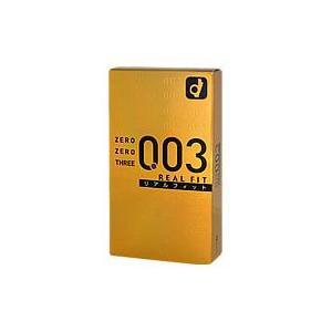 オカモト ゼロゼロスリー003<リアルフィット>10コ入ゼロゼロスリー/003/リアルフィット|kenko-ex