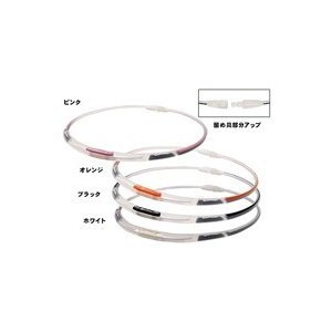 【在庫限り!大特価】【ゆうメール便!送料無料】 ファイテンRAKUWAネックS 3ライン[スケルトン/ブラック] 43cm(X30/X50/X100)|kenko-ex