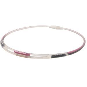 ファイテンRAKUWAネックS 3ライン スケルトン/ピンク 50cm(RAKUWA/X50/X100/ネック/RAKUWAネック)(ゆうパケット配送対象)|ケンコーエクスプレス
