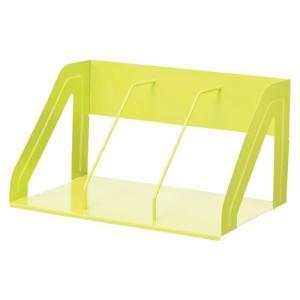 リヒトラブ ブックスタンド390mm 黄緑 A73456