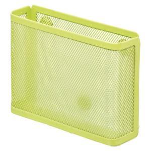 リヒトラブ 机上台パーツマグネットポケット(メモ) 黄緑A73916