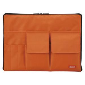 リヒトラブ TEFFA バッグインバッグA4 橙 A-75544|ケンコーエクスプレス