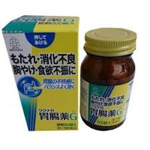 【第2類医薬品】ワクナガ胃腸薬G 600錠[湧永製薬]