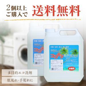 ココナツ洗剤 多目的洗剤 4L ココナツ洗剤 敏感肌 アトピ...