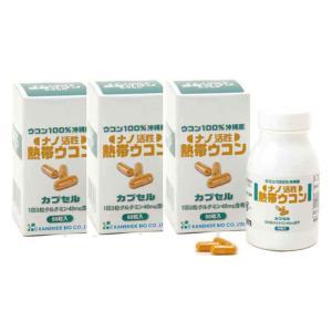ナノ活性熱帯ウコンカプセル 90粒(約30日分) ウコン加工食品 JAN:4958349180586...