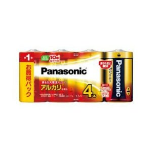 【あわせ買い2999円以上で送料無料】パナソニック アルカリ乾電池 単1形 4本パック LR20XJ/4SW|kenkoo-life