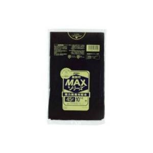 【あわせ買い2999円以上で送料無料】ジャパックス S52 ごみ袋 45L 10枚入 黒|kenkoo-life