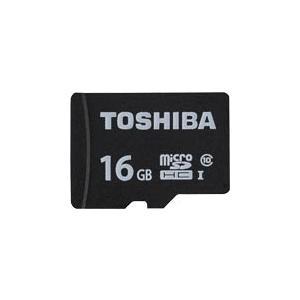 【即配】東芝 TOSHIBA microSDHCカード(MSDAR40Nシリーズ) 16GB : M...