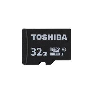 即配 東芝 TOSHIBA microSDHCカード(MSDAR40Nシリーズ) 32GB : MS...