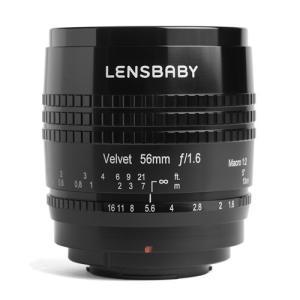 即配 LENSBABY レンズベビー Velvet(ベルベット) 56 フジフイルムXマウントポートレート撮影での差別化を図る 大幅値下げ