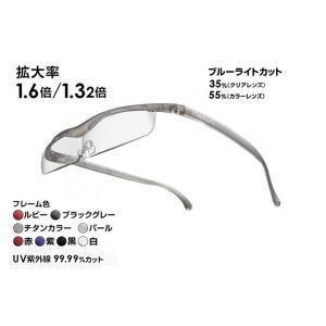 ハズキルーペ クール 1.32倍・1.6倍 (フレーム6色) レンズ2タイプ 最新モデル
