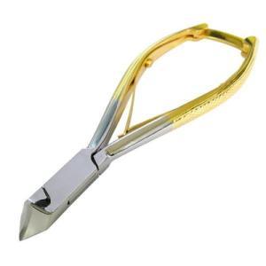 24金メッキ斜刃爪切り 巻き爪用 1個 ф 巻き爪に適した食い切り刃の形状 kenkou-master