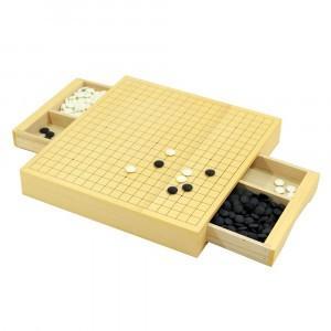 三冠王2 囲碁セット 1個 送料無料 従来品の約2 3のコンパクトサイズの囲碁セット|kenkou-master