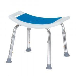 シャワーチェア 背なし 1個 送料無料 水をはじくEVA樹脂製のマットを座面に使用 組立要|kenkou-master