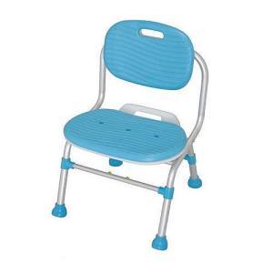 シャワーチェア 1個 送料無料 ゆったり座れる幅広座面とやわらかなソフトパット付 介護保険購入対象品|kenkou-master