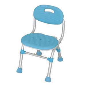 コンパクトシャワーチェア(背付) 1個 送料無料 浴室を広く使える 介護保険購入対象商品|kenkou-master