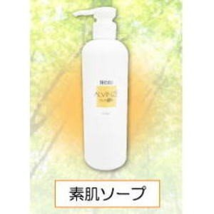 アルヴィンゼECO乳清化粧品 素肌ソープ 180ml ф 赤ちゃんのスキンケアにも ホエイ|kenkou-master