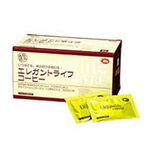 エレガントライフコーヒー 6.6g×60包×3個 送料無料 難消化性デキストリンサプリメント