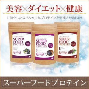 プロテイン アルプロン スーパーフードプロテイン (マキベリー カカオ アサイー) ソイプロテイン|kenkou-otetsudai