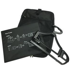 コンパクトガーメントケース ( ガーメントバック 出張 シワ コンパクト スーツ 折りたたみ JAL ワンツーフィニッシュハンガーケース 送料無料 )の商品画像|ナビ