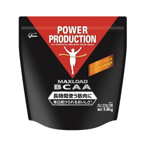 アミノ酸 BCAA グリコ パワープロダクション マックスロード BCAA 1.0kg グレープフル...