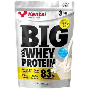 プロテイン Kentai(ケンタイ) 健康体力研究所 メガバリュー100%ビッグホエイプロテインプレーンタイプ 3kg|kenkou-otetsudai