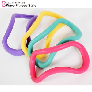 エクササイズ ダイエット ストレッチ 美容 健康 ウェーブストレッチリング ソフトタイプ MAKIスポーツ 正規品|kenkou-otetsudai