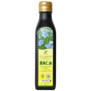 亜麻仁油 フラックスオイル カナダ産 小 185g 200ml 植物性オメガ3系脂肪酸 ニューサイエンス|kenkou-otetsudai