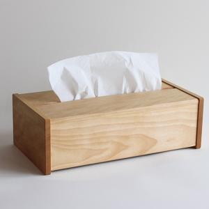 ティッシュケース ティッシュボックス 木製 シンプル オシャレ 無垢 国産天然木 無垢材 飛騨高山 プレゼント 誕生日 ギフト 記念日|kenkou-otetsudai