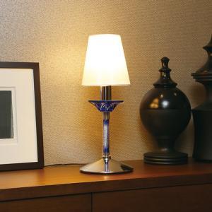 照明 ライト 切子ガラス スタンドライト LED照明 切子スタンドライト 青 赤 オリンピア照明 インテリア 送料無料|kenkou-otetsudai