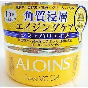 ■製品特長 ●高純度ビタミンC誘導体配合の薬用美白*オールインワンゲルです。 これ1つで化粧水、美容...