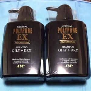 翌日〜翌々日お届け  2個セット ポリピュアEX 【薬用シャンプー】 OILY+DRY 350ml