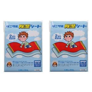 ダニサル除湿シート ワイドサイズ 2枚 60cm×90cm kenkoubijin