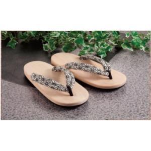 創業65年 高級 檜サンダル 麻の葉|kenkoubijin