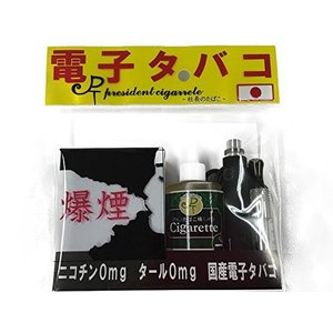 送料無料 電子タバコ 初心者の方におすすめ 日本製 社長のたばこ スターターキット 選べる組み合わせ...