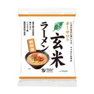 オーサワのベジ玄米ラーメン(担担麺) 132g(うち麺 80...