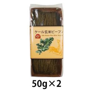 ケール玄米ビーフン(50g×2) お好きなスープや調味料と合わせて
