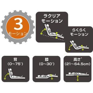 表示価格より最大4,000円値引き 介護ベッド パラマウントベッド 楽匠Z 3モーション(3モーター機能) セーフティーラウンドボード 介護用ベッド 介護向け kenkul 03