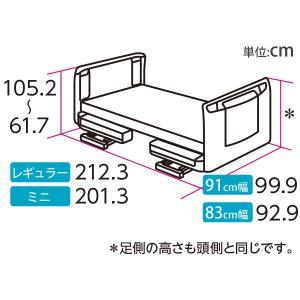 表示価格より最大4,000円値引き 介護ベッド パラマウントベッド 楽匠Z 3モーション(3モーター機能) セーフティーラウンドボード 介護用ベッド 介護向け kenkul 05