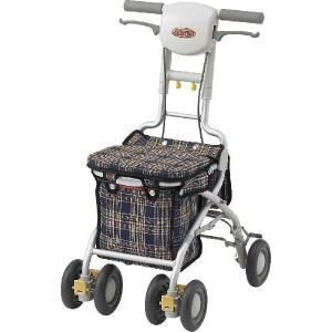サンフィールS・ショッピング・アロン化成・シルバーカー 手押し車 老人用 高齢者 カート 介護用品【UL-401374】|kenkul