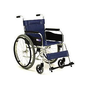 車椅子 軽量 折りたたみ車いす ミキ MPN-43 自走用車椅子 アルミ製車イス kenkul