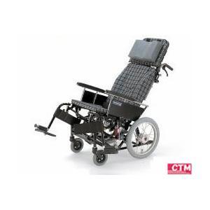 リクライニング式車椅子(車いす)介助式 カワムラサイクル KX16-42N アルミ製車椅子|kenkul