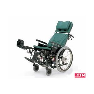 リクライニング式車椅子(車いす)自走式 カワムラサイクル KX22-42EL アルミ製車椅子|kenkul