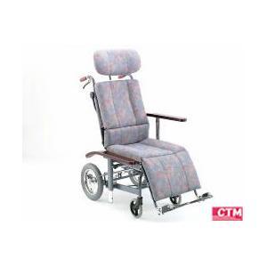 リクライニング式車椅子(車いす)介助式 日進医療器 NHR-11 スチール製車椅子|kenkul