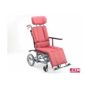 リクライニング式車椅子(車いす)介助式 日進医療器 NHR-12|kenkul